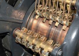 Коллектор электрической машины